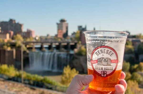 Visiting the Genesee Brew House in Rochester, New York