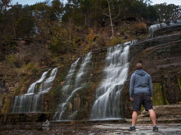 Hector Falls near Watkins Glen New York