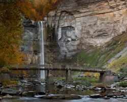 New York Waterfalls: Taughannock Falls near Ithaca