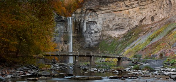 Taughannock Falls is one of the best Finger Lakes waterfalls