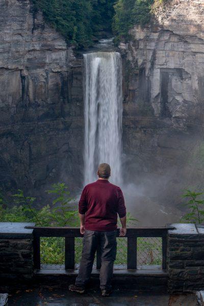 Taughannock Falls Overlook near Ithaca, NY
