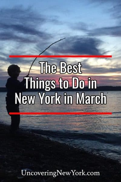 The best things to do in New York in March