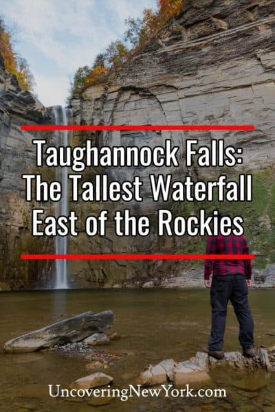 Visiting Taughannock Falls near Ithaca, New York
