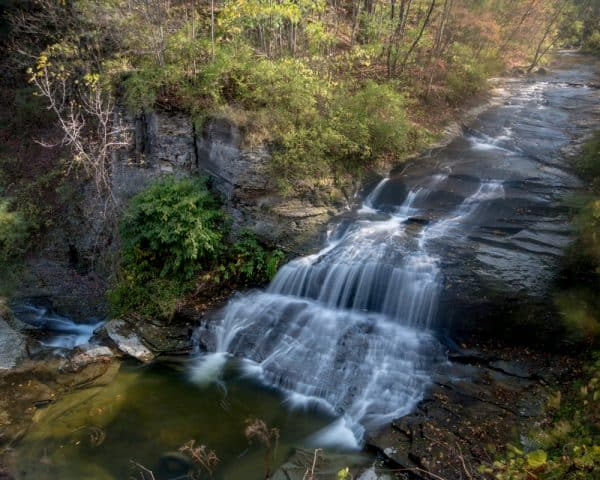 Papermill Falls in Letchworth State Park