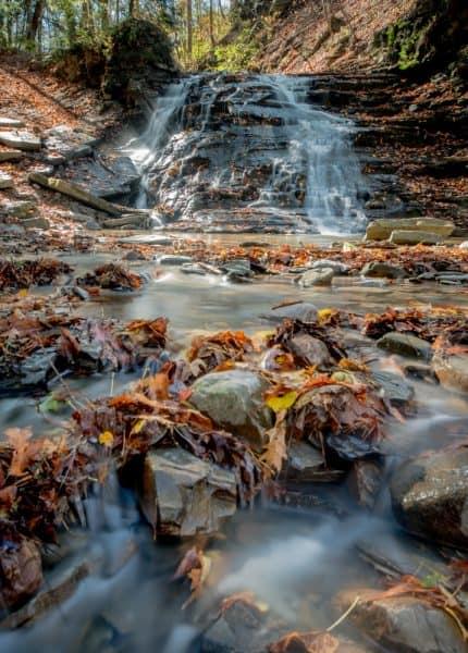 Waterline Falls in Letchworth State Park