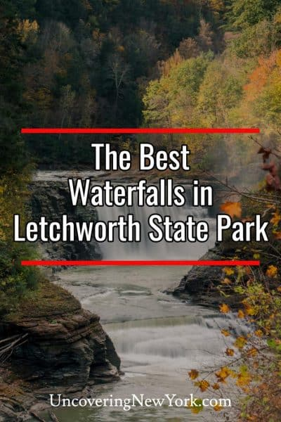 The best waterfalls in Letchworth State Park in New York