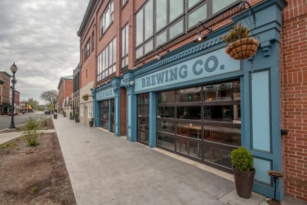 Fox N Hare Brewing Company in downtown Port Jervis, NY