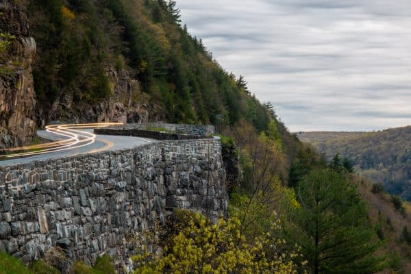 Driving the Hawks Nest is one of the top things to do in Port Jervis New York