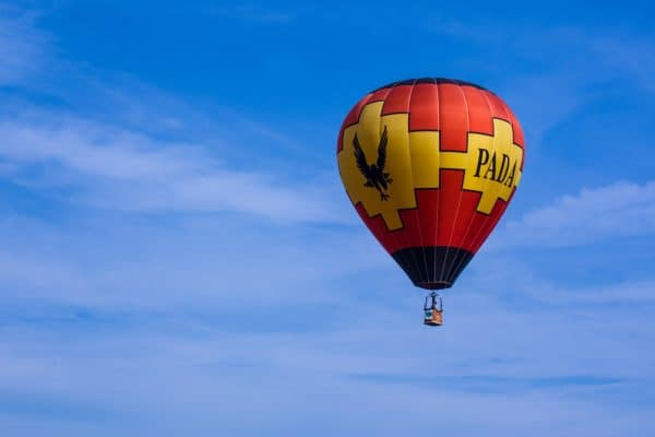 The Saratoga Balloon and BBQ Festival is one of the best things to do in New York in June