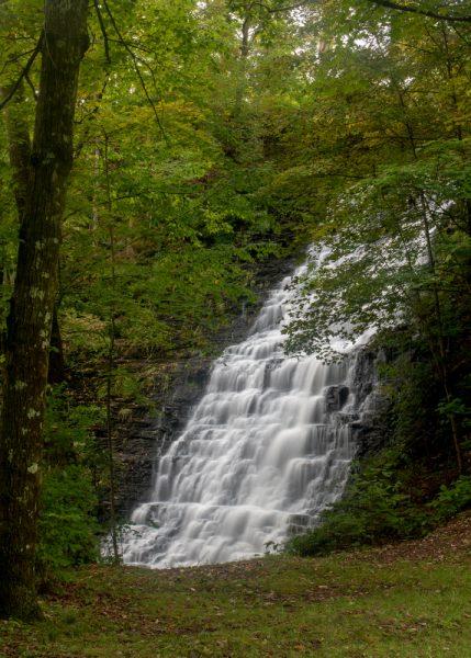 Waverly Glen Falls in Waverly, New York