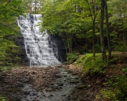 New York Waterfalls: Visiting Waverly Glen Falls in Tioga County