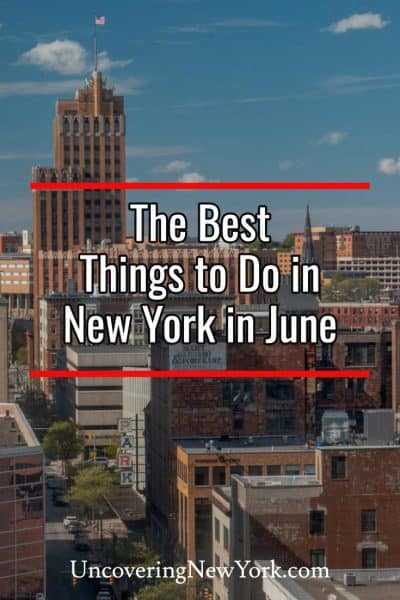The best things to do in New York in June