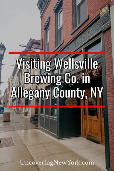 Visiting Wellsville Brewing Company in Allegany County, New York