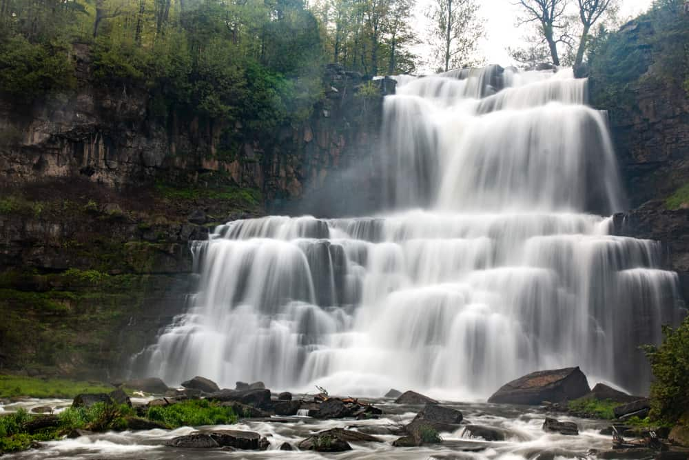 How to get to Chittenango Falls in Chittenango State Park in New York