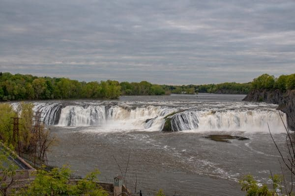 Cohoes Falls from Overlook Park