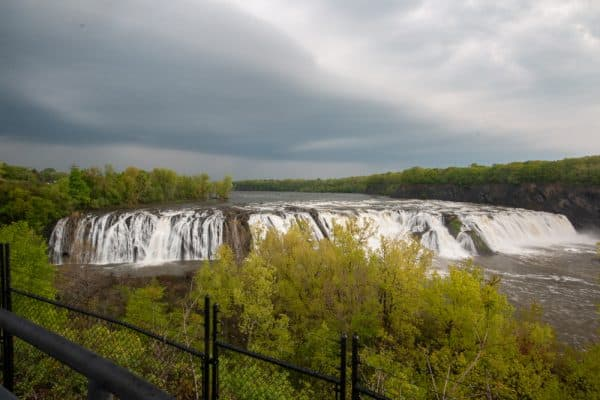 Cohoes Falls from Fall View Park
