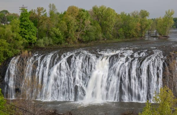 Cohoes Falls during the Spring