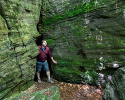 Exploring the Historic and Mysterious Panama Rocks Near Jamestown, New York