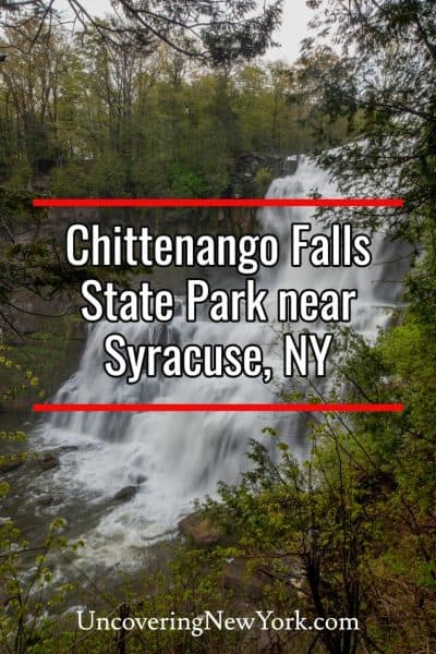 Exploring Chittenango Falls State Park in Madison County, New York