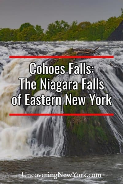 Visiting Cohoes Falls: The Niagara Falls of Eastern New York