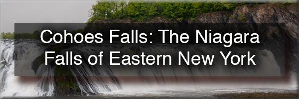 Cohoes Falls near Albany NY