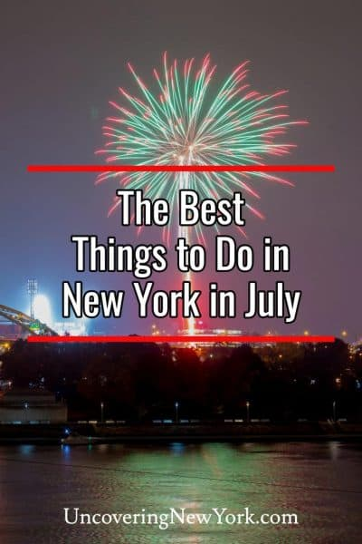 The best things to do in New York in July