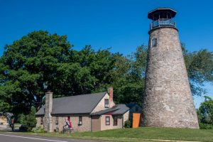 Touring Barcelona Lighthouse on the New York Shores of Lake Erie