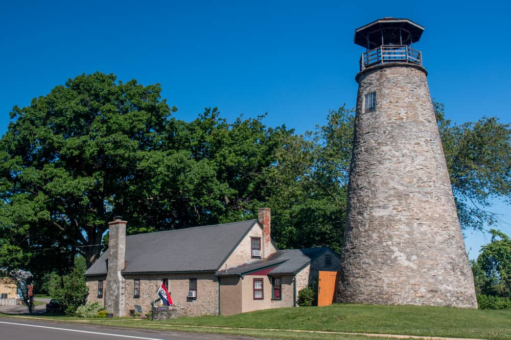 Barcelona Lighthouse in Chautauqua County, New York