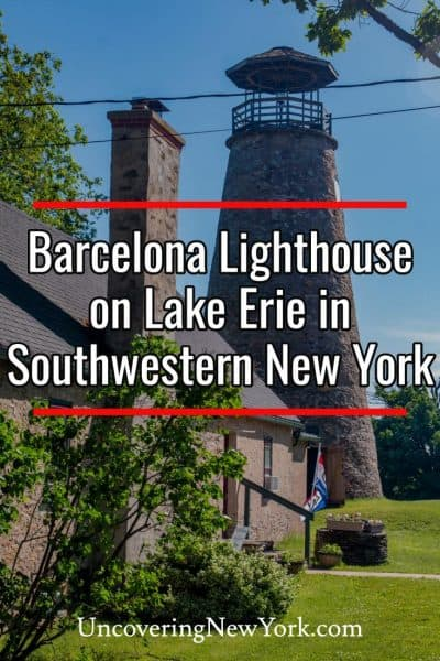 Visiting Barcelona Lighthouse in Chautauqua County, New York