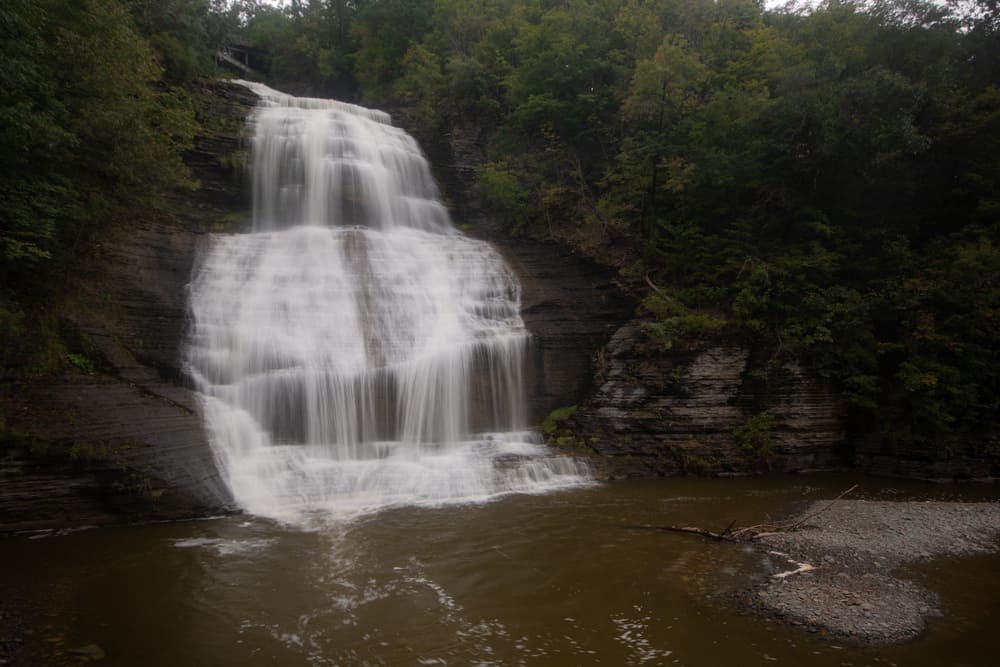 Shequaga Falls in Montour Falls New York