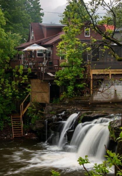 Waterfall in Woodstock New York