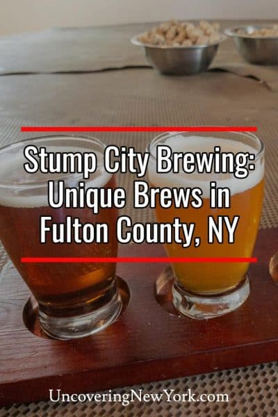 Review of Stump City Brewing in Gloversville, New York