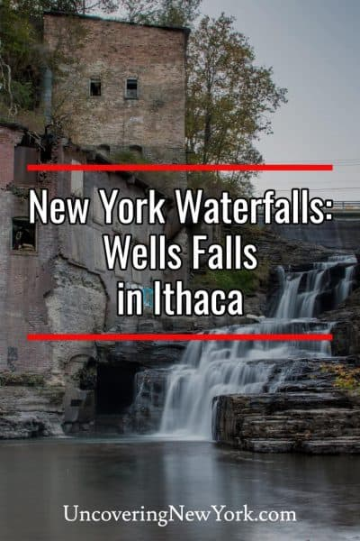 Explore the beautiful Wells Falls in Ithaca, New York