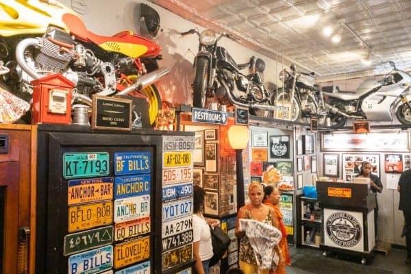 Inside Anchor Bar in Buffalo New York