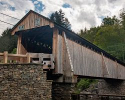 Visiting Beaverkill Covered Bridge in Sullivan County New York