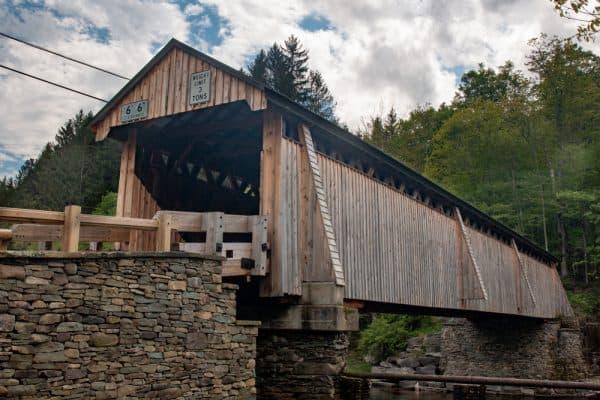 Beaverkill Covered Bridge in Sullivan County, New York