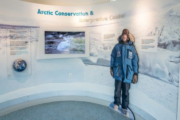 Arctic Edge interpretive center at the Buffalo Zoo
