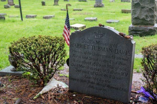 Harriet Tubman's Grave in Auburn, New York