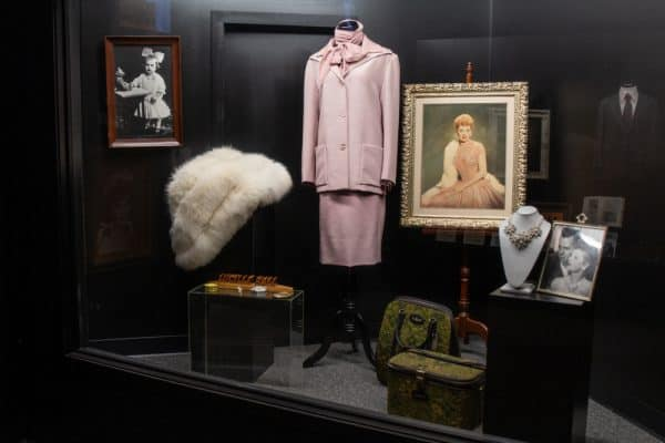 Lucille Ball clothing in the Lucy Desi Museum in Jamestown, NY