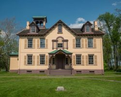Touring Lindenwald at the Martin Van Buren National Historic Site in Kinderhook