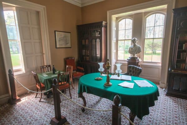 Martin Van Buren's office at Lindenwald in New York