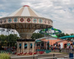Summer Fun at Seabreeze Amusement Park Near Rochester