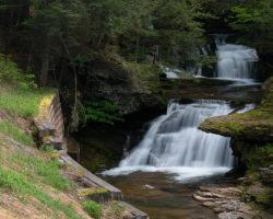How to Get to Tompkins Falls in the Delaware Wild Forest in the Catskills