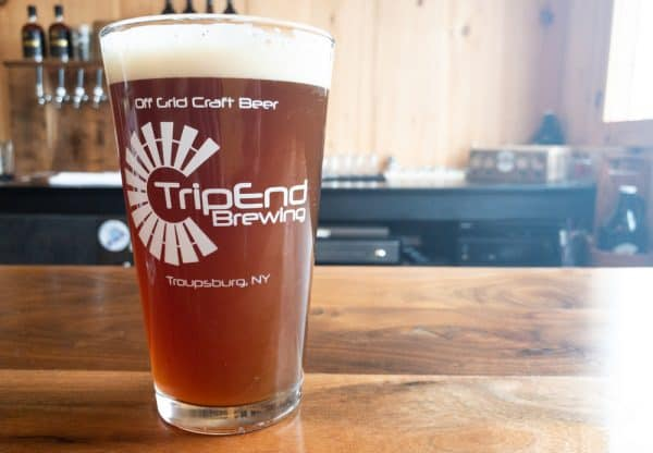 Review of TripEnd Brewing in Troupsburg New York
