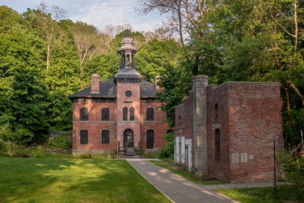 The Ruins of the West Point Foundry in Cold Springs NY