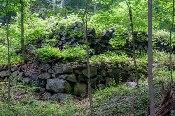 Ruins at the West Point Foundry Preserve in Cold Spring New York