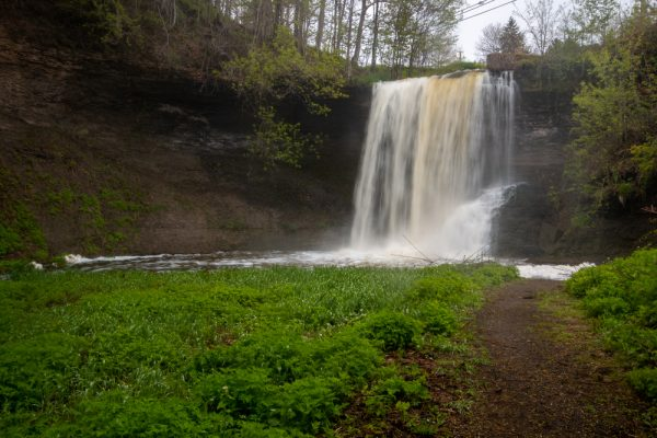 Wolcott Falls Park in upstate New York