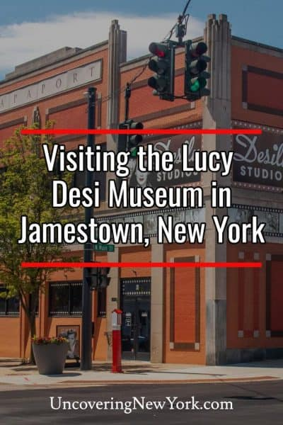 Visiting the Lucy Desi Museum in Jamestown, New York