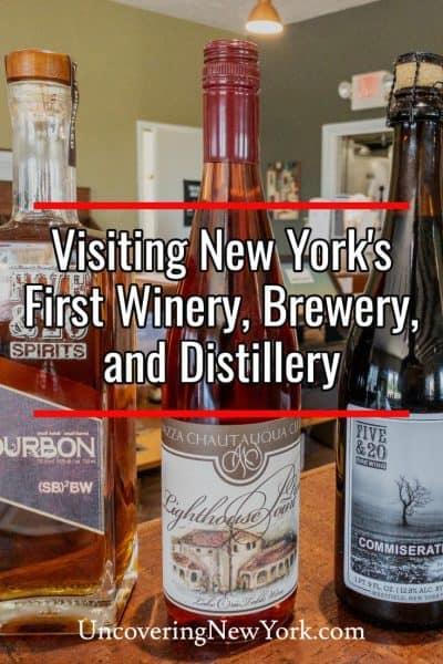 Visiting New York's first winery, brewery, and distillery in Chautauqua County