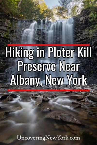 Hiking to Plotter Kill Preserve near Albany, New York